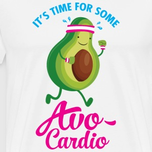 It\'s Time For Some Avo Cardio T-shirts - Premium-T-shirt herr