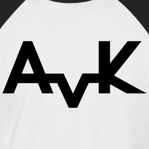 Basic AvK Shirt - Männer Baseball-T-Shirt
