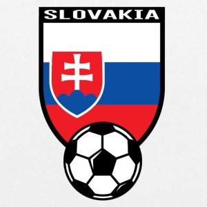 Football fan shirt Slovakia 2016 Bags & Backpacks - EarthPositive Tote Bag