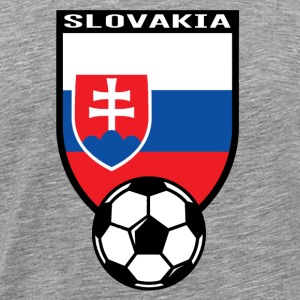 Football fan shirt Slovakia 2016 T-Shirts - Men's Premium T-Shirt