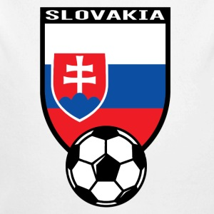 Football fan shirt Slovakia 2016 Baby Bodysuits - Longlseeve Baby Bodysuit