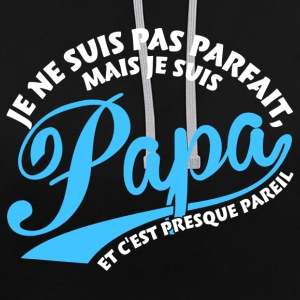Parfait Papa Sweat-shirts - Sweat-shirt contraste
