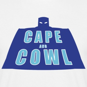 Cape and Cowl Classic Logo Tee - Men's T-Shirt