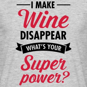 I Make WIne Disappear... T-shirts - T-shirt herr