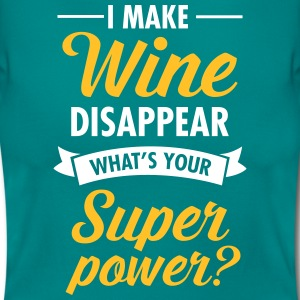 I Make WIne Disappear... T-shirts - Dame-T-shirt