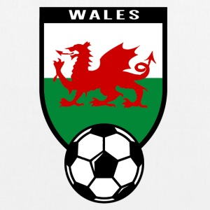 Football fan shirt Wales 2016 Bags & Backpacks - EarthPositive Tote Bag