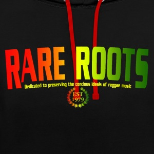 RARE ROOTS RASTA Hoodies & Sweatshirts - Contrast Colour Hoodie