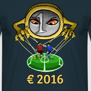 € 2016 Football Manipulation T-Shirt Men navy - Men's T-Shirt