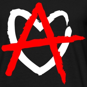 Love Anarchy T-Shirts - Männer T-Shirt