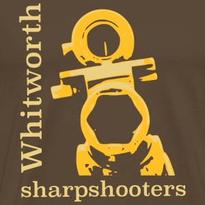 whitworth sharpshooters - Men's Premium T-Shirt