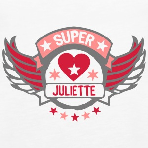 juliette super wing logo puffer herz Tops - Frauen Premium Tank Top
