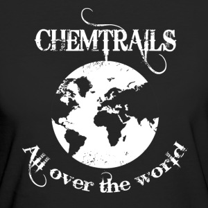 Chemtrails - World  T-Shirts - Frauen Bio-T-Shirt