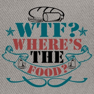 Where's The Food? - Snapback Cap