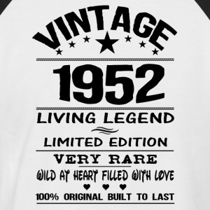 VINTAGE 1952-LIVING LEGEND T-Shirts - Men's Baseball T-Shirt