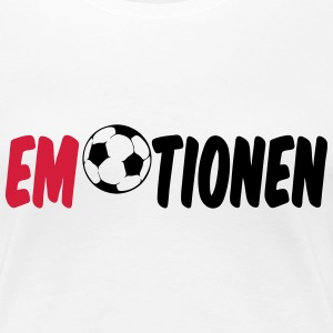 Emotionen (Fußball)  T-Shirts - Frauen Premium T-Shirt
