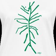 Motif ~ Plante verte by AMJB T-shirt femme bio