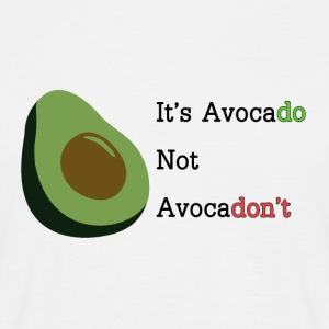 It's Avocado T-Shirts - Männer T-Shirt