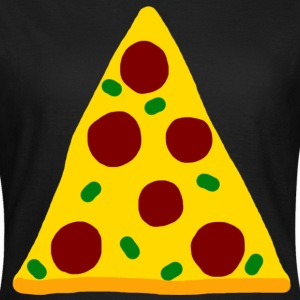 Pizza T-shirts - Dame-T-shirt