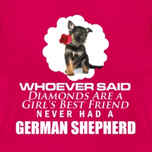 GSD - better then diamonds - Women's T-Shirt