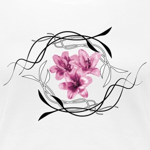 lillies T-Shirts - Frauen Premium T-Shirt