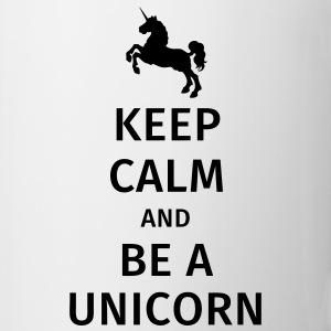 keep calm and be a unicorn Muggar & tillbehör - Mugg