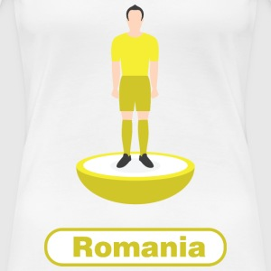 Romania football  - Women's Premium T-Shirt