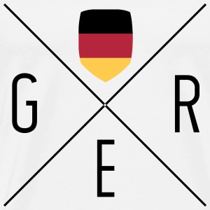 Germany Fan Shirt - Männer Premium T-Shirt