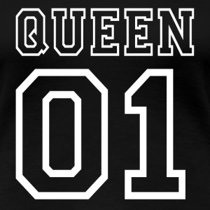 PARTNERSHIRT - QUEEN 01 T-Shirts - Women's Premium T-Shirt