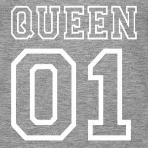 PARTNERSHIRT - QUEEN 01 Tops - Frauen Premium Tank Top