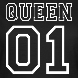 PARTNERSHIRT - QUEEN 01 T-Shirts - Frauen T-Shirt