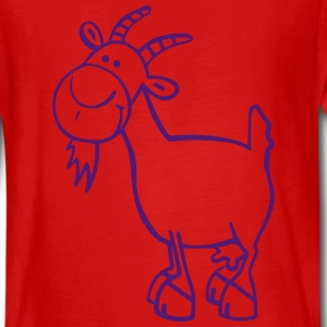 Funny Goat Long Sleeve Shirts - Teenagers' Premium Longsleeve Shirt
