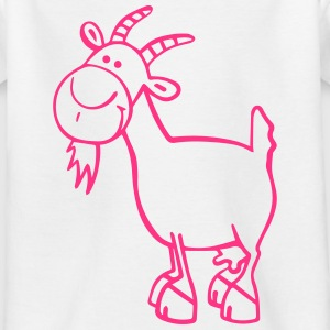 Grappig Geit Shirts - Teenager T-shirt
