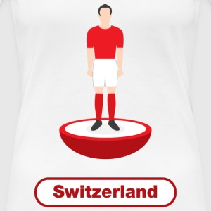 Switzerland football - Women's Premium T-Shirt