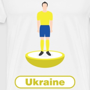 Ukraine football  - Men's Premium T-Shirt