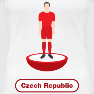 Czech Republic football  - Women's Premium T-Shirt
