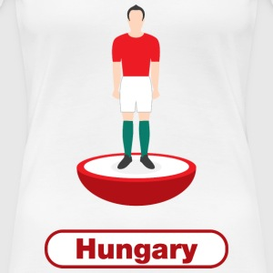 Hungary football  - Women's Premium T-Shirt