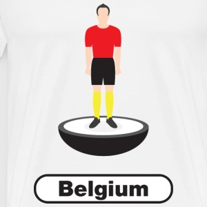 Belgium football  - Men's Premium T-Shirt
