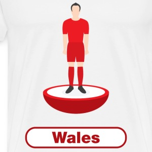 Wales football - Mens tshirts - Men's Premium T-Shirt