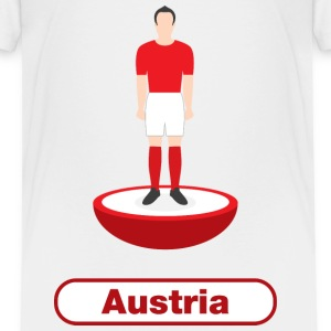 Austria football - Kids' Premium T-Shirt