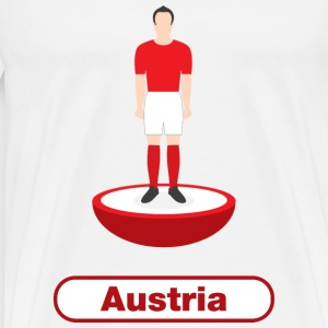 Austria football  - Men's Premium T-Shirt