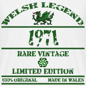 Welsh Legend 1971 - Men's T-Shirt