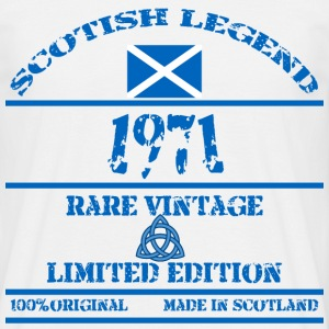 Scottish Legend 1971 - Men's T-Shirt