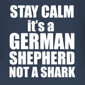 Stay Calm - its a German Shepherd, not a shark! - Women's Premium Longsleeve Shirt