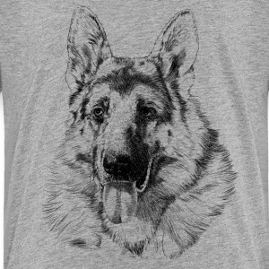 German shepherd Shirts - Teenager Premium T-shirt