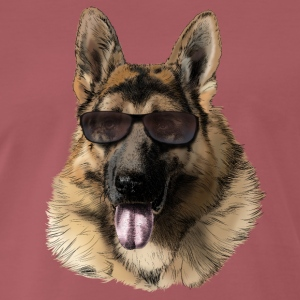 German shepherd T-skjorter - Premium T-skjorte for menn