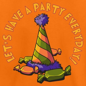 lets_have_a_party_everyday_05201601 T-Shirts - Kinder Premium T-Shirt