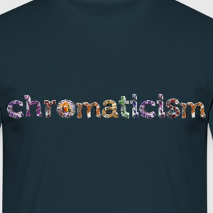 chromaticism logo tee (m) - Men's T-Shirt