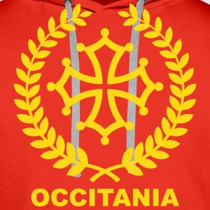 Occitania Sweat-shirts - Sweat-shirt à capuche Premium pour hommes