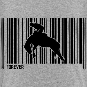barcode rodeo pferd 30 T-Shirts - Teenager Premium T-Shirt