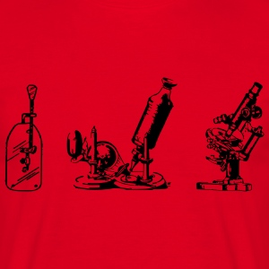 Microscopes - Mannen T-shirt
